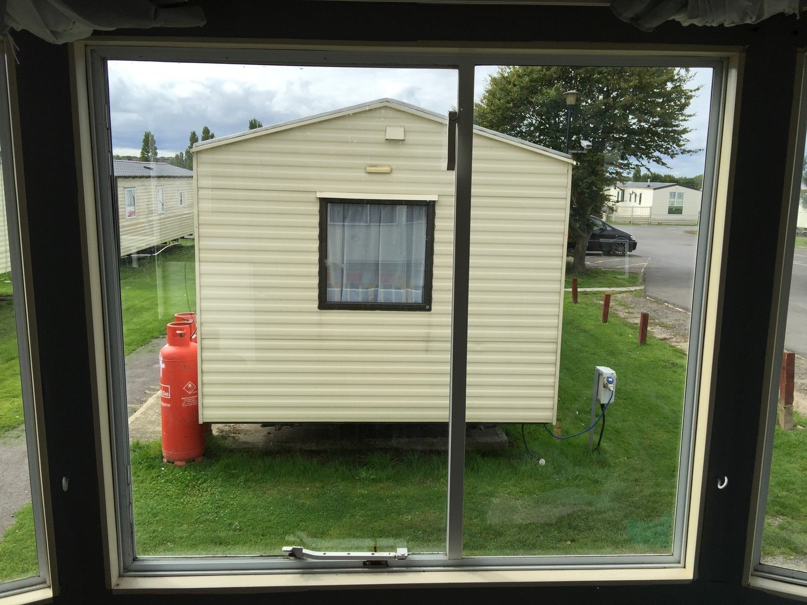 Static caravan double glazing windows and doors supplied for Double glazed doors fitted