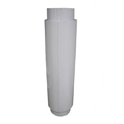 Complete Water Heater Marine Flue Bosch,Paloma,Vaillant etc in BLACK for Morco